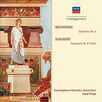 "Concertgebouw Orchestra of Amsterdam, Josef Krips – Beethoven: Symphony No.4; Schubert: Symphony No.9 - ""Great"""