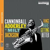 Přední strana obalu CD Things Are Getting Better [Original Jazz Classics Remasters]