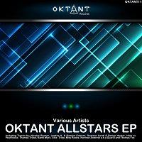 Přední strana obalu CD Oktant Allstars EP