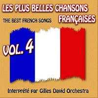 Přední strana obalu CD Die besten franzosischen Songs Vol. 4 - The Best French Songs Vol. 4