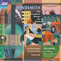 Paul Cortese, Jordi Vilaprinyó, The Philharmonia – Hindemith: The Complete Works for Viola Vol.3