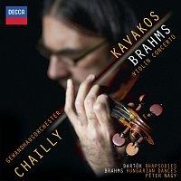 Leonidas Kavakos, Gewandhausorchester Leipzig, Riccardo Chailly, Peter Nagy – Brahms: Violin Concerto; Hungarian Dances;  Bartók: Rhapsodies