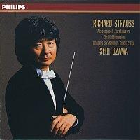 Přední strana obalu CD R. Strauss: Also Sprach Zarathustra/Ein Heldenleben