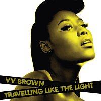 Přední strana obalu CD Travelling Like The Light