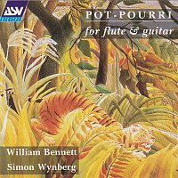 Přední strana obalu CD 'Pot-Pourri' for flute & guitar