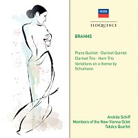 András Schiff, Members Of The New Vienna Octet, Takács Quartet – Brahms: Clarinet Trio; Horn Trio; Variations on a theme of Schumann; Piano Quintet; Clarinet Quintet