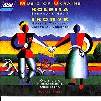 Přední strana obalu CD Kolessa: Symphony No. 1 / Skoryk: Hutsul Tryptich, Carpathian Concerto