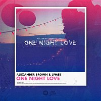 Přední strana obalu CD One Night Love