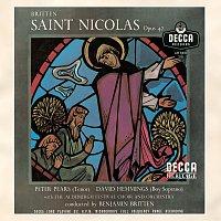 Přední strana obalu CD Britten: St.Nicolas, Op.42