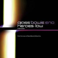 Přední strana obalu CD Philip Glass: Low Symphony & Heroes Symphony [2 CDs]