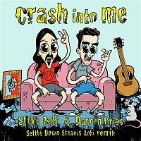 Přední strana obalu CD Crash Into Me (Settle Down Steavis Aoki Remix)
