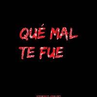 Přední strana obalu CD Qué Mal Te Fue (feat. Johnny Natti)