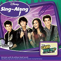 Přední strana obalu CD Disney Singalong - Camp Rock 2: The Final Jam