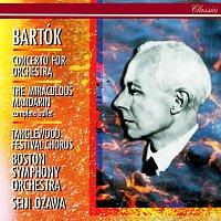 Seiji Ozawa, Boston Symphony Orchestra – Bartók: Concerto for Orchestra; The Miraculous Mandarin