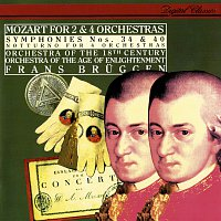 Frans Bruggen, Orchestra Of The Age Of Enlightenment – Mozart: Symphonies Nos. 34 & 40; Notturno for 4 Orchestras