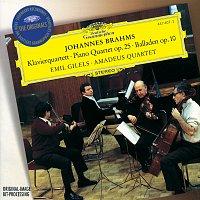 Amadeus Quartet, Emil Gilels – Brahms: Piano Quartet No.1 In G Minor, Op.25; 4 Ballades, Op. 10