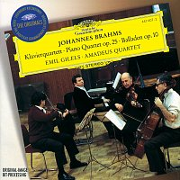 Amadeus Quartet, Emil Gilels – Brahms: Piano Quartet No.1 In G Minor, Op.25; 4 Ballades, Op. 10