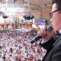 Ricardo Marinello – Deutsche Nationalhymne live at Megapark