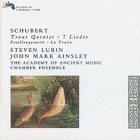 Přední strana obalu CD Schubert: 'Trout' Quintet/7 Lieder
