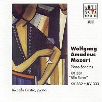 Ricardo Castro, Wolfgang Amadeus Mozart – Mozart: Piano Sonatas KV 330/331/332