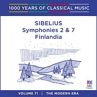 Adelaide Symphony Orchestra, Arvo Volmer – Sibelius: Symphonies Nos. 2 & 7 - Finlandia [1000 Years Of Classical Music, Vol. 71]