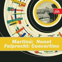 České noneto – Martinů, Folprecht: Nonet, Concertino