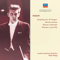 "London Symphony Orchestra, Peter Maag – Mozart: Symphony No.38 - ""Prague""; German Dances; Thamos Interludes"