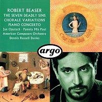 Přední strana obalu CD Robert Beaser: Chorale Variations; The Seven Deadly Sins; Piano Concerto