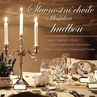 Přední strana obalu CD Slavnostní chvíle s klasickou hudbou