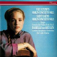 Isabelle van Keulen, London Symphony Orchestra, Sir Colin Davis – Saint-Saens: Violin Concerto No. 3 / Vieuxtemps: Violin Concerto No. 5 / Ysaye: Solo Violin Sonata No. 5
