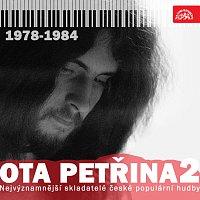 Přední strana obalu CD Nejvýznamnější skladatelé české populární hudby Ota Petřina 2 (1978-1984)