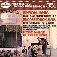 Byron Janis, Moscow Philharmonic Symphony Orchestra, Gennadi Rozhdestvensky – Liszt: Piano Concertos Nos. 1 & 2; Encores