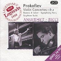 Ruggiero Ricci, L'Orchestre de la Suisse Romande, Ernest Ansermet – Prokofiev: Violin Concertos Nos.1 & 2; Symphony No.5; Romeo & Juliet etc.