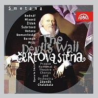 Přední strana obalu CD Smetana: Čertova stěna. Opera o 3 dějstvích