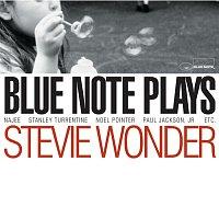 Přední strana obalu CD Blue Note Plays Stevie Wonder