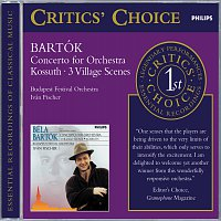 Branislav Kostka, SLUK Slovakian Folkensemble Choir, Budapest Festival Orchestra – Bartók: Concerto for Orchestra/3 Village Scenes/Kossuth