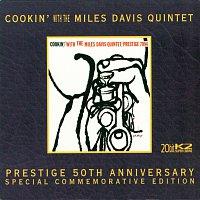 Přední strana obalu CD Cookin' With The Miles Davis Quintet