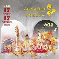 Přední strana obalu CD Aurea fest Požega 2015.