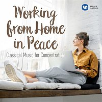 Přední strana obalu CD Working from Home in Peace: Classical Tunes for Concentration