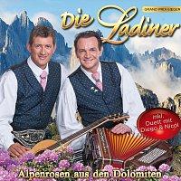 Přední strana obalu CD Alpenrosen aus den Dolomiten