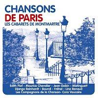 Přední strana obalu CD Les cabarets de Montmartre