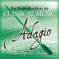 Přední strana obalu CD Adagio - The Top 10