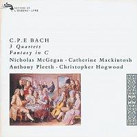 Nicholas McGegan, Catherine Mackintosh, Anthony Pleeth, Christopher Hogwood – Bach, C.P.E.: 3 Quartets; Fantasy in C