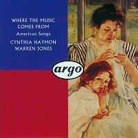 Přední strana obalu CD Where the Music Comes From
