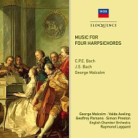 George Malcolm, Valda Aveling, Geoffrey Parsons, Simon Preston, Raymond Leppard – Music For Four Harpsichords