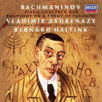 Vladimír Ashkenazy, Concertgebouw Orchestra of Amsterdam, Philharmonia Orchestra – Rachmaninov: Piano Concerto No.1; Rhapsody on a Theme of Paganini