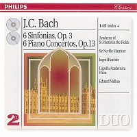Academy of St. Martin in the Fields, Sir Neville Marriner, Ingrid Haebler – Bach, J.C.: 6 Sinfonias Op.3/6; Piano Concertos Op.13 [2 CDs]