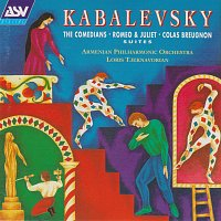 Přední strana obalu CD Kabalevsky: Romeo and Juliet - Suite, The Comedians - Suite, Colas Breugnon - Suite