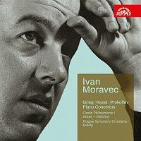 Přední strana obalu CD Koncerty (Grieg, Ravel, Prokofjev)
