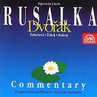 Přední strana obalu CD Dvořák: Rusalka. Opera o 3 dějstvích